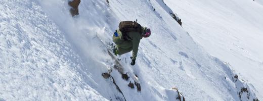 Skiing Jan. 2009