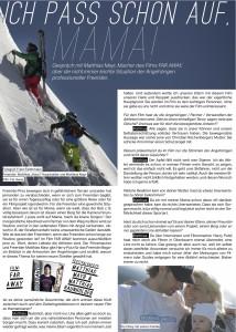 Freeride Magazin Freeski Filmfestival 2013 page 2