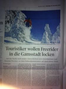 Tiroler Tageszeitung 19.11.2013