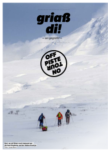 Freeride Magazin 1