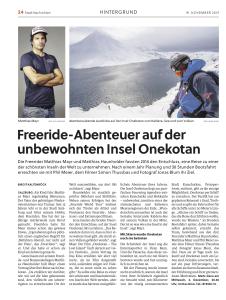 Salzburger Stadtnachrichten Nov. 2015